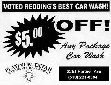 $5.00 Off Car Wash