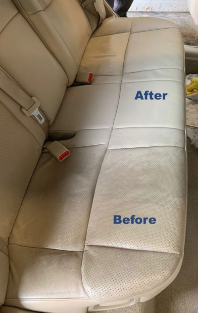 seat before and after